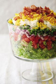 Dinner recipe: Little Big Town's Kimberly Schlapman's Signature Layered Salad