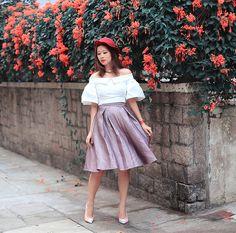 Get this look: http://lb.nu/look/8612783  More looks by Mayo Wo: http://lb.nu/mayowo  Items in this look:  Melissa Bui Off Shoulder Top   #artistic #elegant #romantic