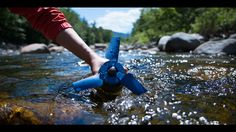 Bring your own power plant : Estream converts any type of moving water into…