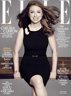 magazine elle usa june 2015 chelsea clinton im tougher than i look