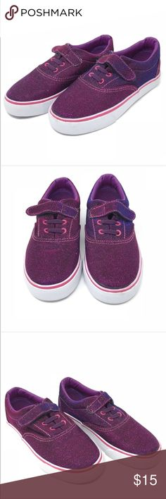 Girls purple glitter Velcro sneakers •Dream Seek purple glitter sneakers with Velcro closure •New without box, never been worn!  •Size: 13   •I am a: Posh Ambassador, top 10% seller, top rated seller, Posh mentor & ship same day/next day!  ⭐️❤️FREE Matching hair accessory with purchase!❤️⭐️ •Smoke & pet free home •Browse my closet for dozen of amazing designers such as.. tucker + Tate, Tea Collection, Mini Boden, UGG, GAP, Juicy Couture, Lululemon & many more! Dream Seek Shoes Sneakers