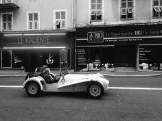 Badass.  #vsco #vscocam #streetphotography #street #car #ontheroad #blackandwhite #nice #france by janmarae at http://ift.tt/1M0yo5B