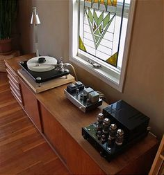 """Get The Best Sound...With Vinyl Records + Tube Amplifiers...It´s Not Like Going Backwards, In Fact Is Going Forward"" !... http://about.me/Samissomar"