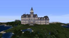 Minecraft Bridges, Minecraft Architecture, Mansions, House Styles, Home Decor, Decoration Home, Manor Houses, Room Decor, Villas