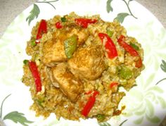 Arroz con pollo #Peruvianfood #food #recipies #peru