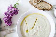 jerusalem artichoke soup.