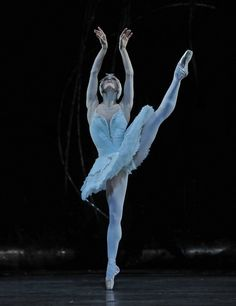 Marianela Nuñez as Odette in the Royal Ballet production of Swan Lake.
