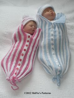 Baby Knitting Pattern Papoose Cuddle Sac Cocoon Knitting by shifio