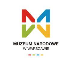 Muzeum Narodowe (National Museum in Warsaw) logo designed by Dawid Cmok