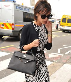 Join us as we take a look behind the scenes at the fabulous handbag collection of Victoria Beckham!