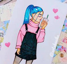 Girl Falling, Disney Inspired, Fashion Sketches, Disney Characters, Fictional Characters, Aurora Sleeping Beauty, My Arts, Manga, Portrait