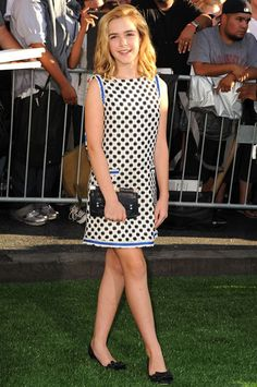 Kiernan Shipka in Oscar de la Renta - Best Dressed Celebrities Week of August 10th, 2012