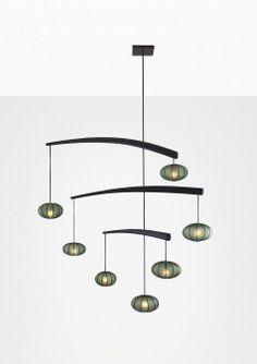 Mobile Pendant – Best & Lloyd Pendant Chandelier, Ceiling Pendant, Ceiling Lamp, Pendant Lighting, Ceiling Lights, Artwork Lighting, Modern Scandinavian Interior, Upholstered Chairs, Light And Shadow