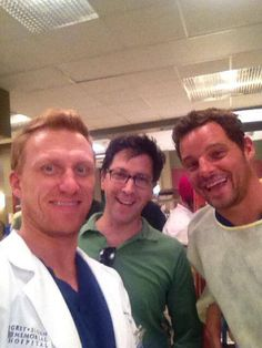 behind the scenes - Grey's Anatomy season 10