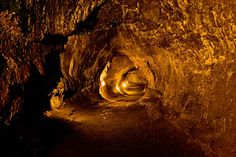 lava tubes hawaii volcanoes national park | Lava tube