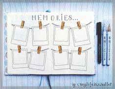 Never-forget memories spread for your bujo! IG: my.life.in.a.bullet