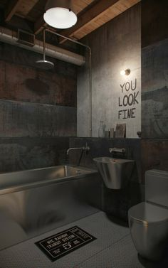 BATHROOM // INDUSTRIAL // LOFT // MEN // YOU LIKE FINE