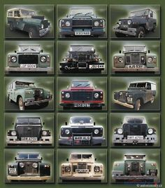 Land Rovers Galore