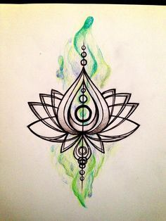 Lotus tattoo? by simisketches.deviantart.com on @deviantART