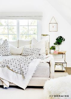 "Enter Tammy Price, founder of Fragments Identity, the interior design firm with which Fetherston would come to collaborate to design her first home décor collection. ""I have a very..."
