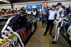 Dale Earnhardt Jr. Photos Photos - Dale Earnhardt Jr., driver of the #88 Microsoft Chevrolet, looks on during practice for the NASCAR Sprint Cup Series Toyota/Save Mart 350 at Sonoma Raceway on June 26, 2015 in Sonoma, California. - Sonoma Raceway - Day 1