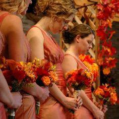 Autumn wedding theme