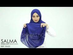 SALMA Double Loop - YouTube Diy Bow, Diy Ribbon, Hijab Style, Turban, Hijab Fashion, Diy Jewelry, Bows, My Style, Youtube