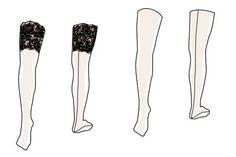 sew your own seam stocking