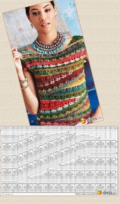 ideas dress wrap pattern free kielo for 2019 This post was discovered by esti brustein.) your own Posts on Unirazi - Salvabrani Knitting Patterns Sweter I like to knit and crochet. Ravelry: PCRider's Summer tee link to pattern Ballet-Neck Tee by Linda Sku Débardeurs Au Crochet, Cardigan Au Crochet, Pull Crochet, Mode Crochet, Black Crochet Dress, Crochet Jacket, Crochet Chart, Crochet Cardigan, Crochet Stitches