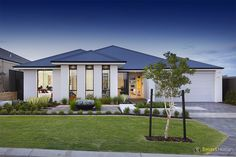 The Fusion Display Home by #SmartHomesForLiving. #HomeDesign #Elevation