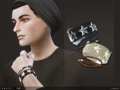 The Sims Resource: Snuff Wristbands by toksik • Sims 4 Downloads
