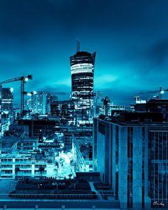 #blue #night #warszawa #noc #warsaw #poland #polska #placeuropejski #warsawspire #cold #architecture #architecturephotography #landscape #landscapephotography #skyscraper #business #raw #canon #fullframe #wiezowiec #widok #fotografia