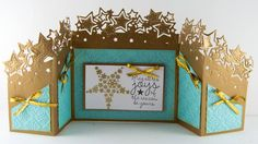 Gini Williams Cagle designing for @CraftersCompUS Die'sire Edge'ables Twinkle Twinkle Diamond Snowflakes Embossing Folder Stamp-It Australia Twinkle - Falling Snowflake Shimmering Cardstock Coastal Pearl #HSNCrafts #SaraDaviesCC