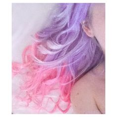 pastel pink and purple hair - Hair Colors Ideas Pastel Blue Hair, Blue Green Hair, Pink Hair Dye, Hair Color Pink, Purple Hair, Pink Purple, Pastel Goth, Ombre Hair, Light Purple
