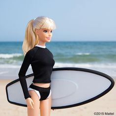 Surf's up at Ditch!  #montauk #barbie #barbiestyle