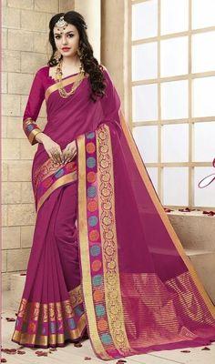 ae0b4bff20 Saree: Saree Fabric/Material: Cotton Silk Saree Type: Saree With Blouse  Saree