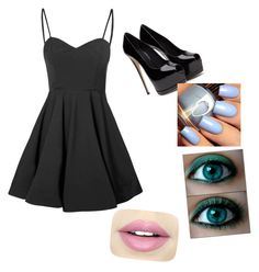 """Date 9"" by savannah-harris-2005 on Polyvore featuring Glamorous and Fiebiger"