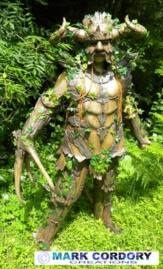 Wood Elemental costume created for LARP
