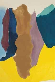 Helen Frankenthaler (1928-2011) | Cinnamon Burn | POST-WAR ...