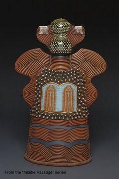david macdonald pottery | David MacDonald Pottery Ceramic Pottery, Pottery Art, Ceramic Art, Sculptures Céramiques, Sculpture Clay, Paper Clay, Clay Art, David Mcdonald, Canopic Jars