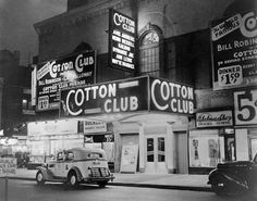 Reading The Thin Man by Dashiell Hammett at the moment, pining for New York of the past! and possibly the chance to lounge in hotels drinking whiskey all day... pictured - Cotton Club: a famous jazz music night club located in Harlem, New York City, and operated from 1923 to 1940