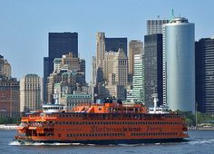 Staten Island Ferry- take a sightseeing ferry ride over to Manhattan! See the Statue of Liberty and Govenor's island!