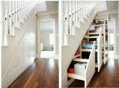 Great Idea to Store & Save Space :)