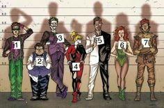 Gotham's Usual Suspects