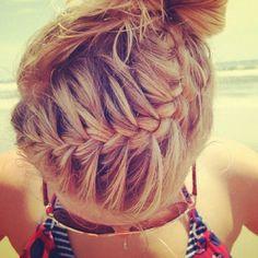 Summer hair! Pretty braid!