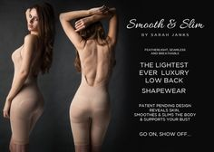 Wedding Lingerie – Smooth and Slim Shapewear. #SarahJanks #WeddingLingerie - micro lingerie, pretty lingerie, where to get cute lingerie *ad