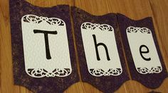Wedding Banner Names Custom Order Item  The by ClairPaperCrafts