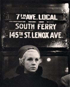 NYC subway, circa 1940.