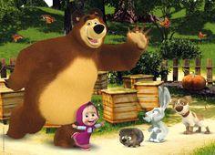 """""""Masha e Orso"""": su Infinity i nuovi episodi della serie animata dello Studio Animacoord"""