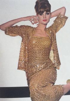 Jean Shrimpton, VogueUK, September, 1964, by David Bailey.